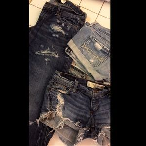 Abercrombie Denim Set